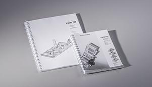 Broschüren mit Wire-O-Bindung